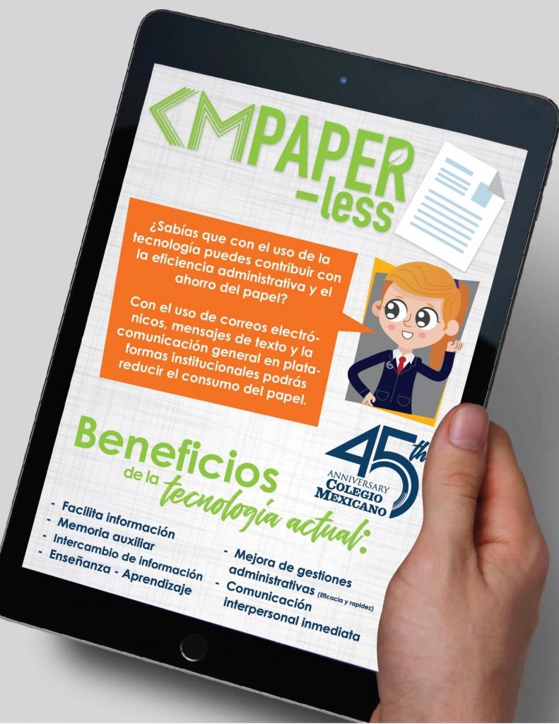 CM Paper Less